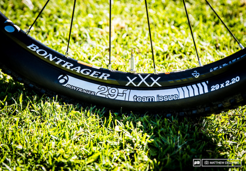 Велосипед Эмили Бэтти Trek Superfly на Pietermaritzburg World Cup